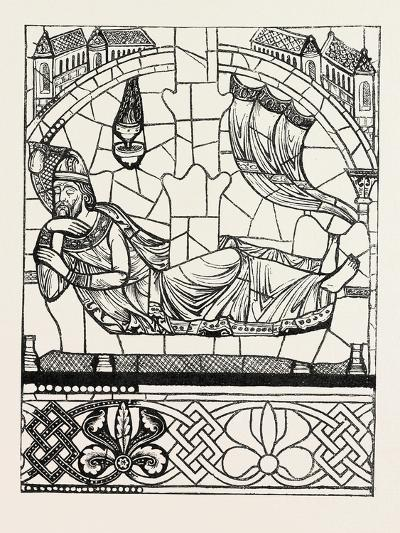 Figure of Jesse, Twelfth Century, Cathedral of Chartres, France--Giclee Print