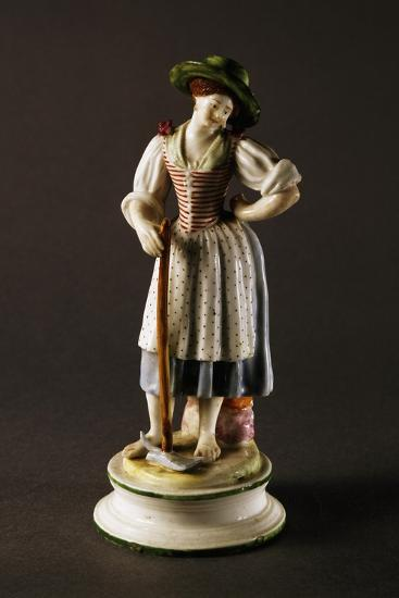 Figure of Peasant Woman--Giclee Print