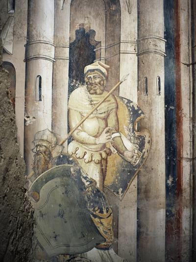 Figure of Soldier--Giclee Print