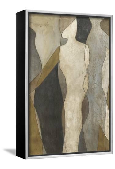 Figure Overlay I-Megan Meagher-Framed Canvas Print