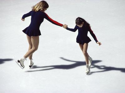 Figure Skaters--Photographic Print