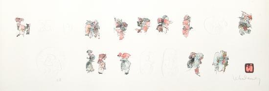 Figure Studies II-Lebadang-Collectable Print