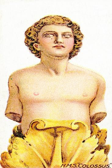 Figurehead of H.M.S. Colossus, 1912--Giclee Print