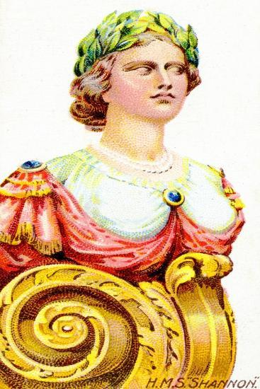 Figurehead of H.M.S. Shannon, 1912--Giclee Print