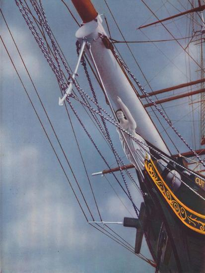'Figurehead of the Famous Cutty Sark figure of Nanny the Witch', 1936-Unknown-Giclee Print