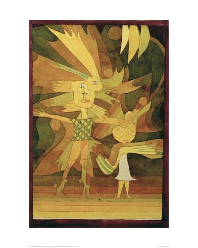 Figures from a Ballet-Paul Klee-Giclee Print