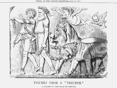 Figures from a Triumph, 1878-Joseph Swain-Giclee Print