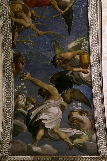 Figures of Angels, Ca. 1610-Ludovico Carracci-Giclee Print