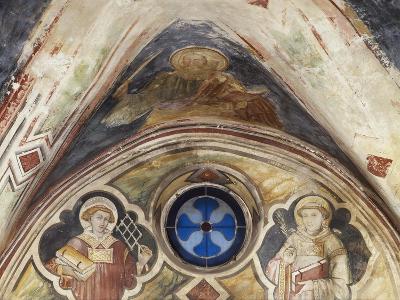 Figures of Saints in Sacro Speco Monastery, Subiaco, Italy, 14th-15th Century--Giclee Print