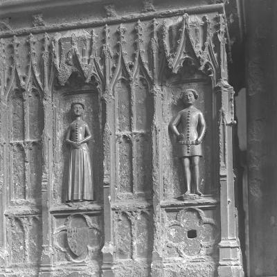 Figures on a Tomb at Westminster Abbey, London-Frederick Henry Evans-Photographic Print