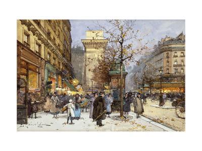 Figures on Le Boulevard St-Eugene Galien-Laloue-Giclee Print