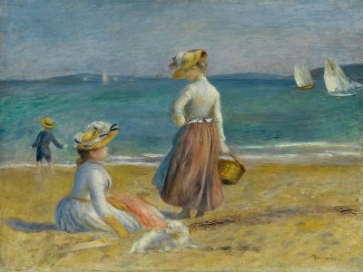 Figures on the Beach, 1890-Pierre-Auguste Renoir-Giclee Print