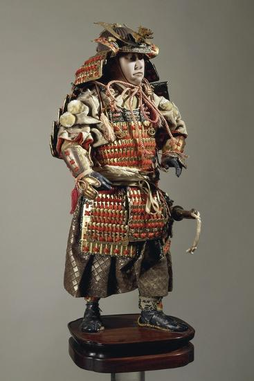 Figurine of Samurai--Giclee Print