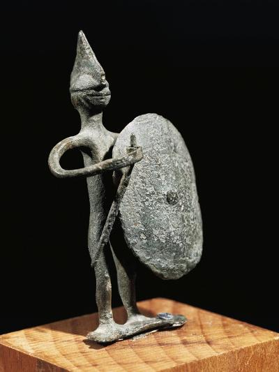 Figurine of Warrior--Giclee Print