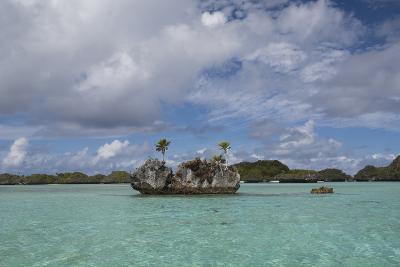 Fiji, Island of Fulanga. Lagoon Inside Volcanic Caldera-Cindy Miller Hopkins-Photographic Print
