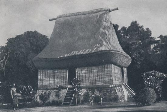 'Fijian House', 1924-Unknown-Photographic Print
