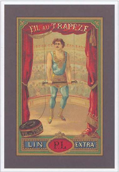Fil au Trapeze--Art Print