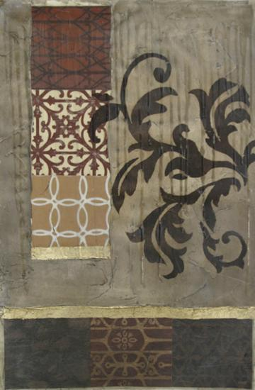 Filigree and Texture I--Art Print