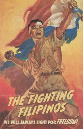 Filipino Freedom Fighter Poster