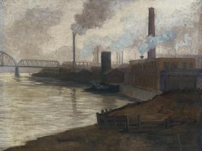 Industrial Scene, Mills on the Monongahela