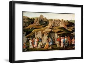 Adoration of the Kings, C. 1480 by Filippino Lippi