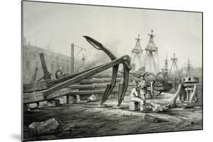 Anchors at Naval Shipyard by Filippino Lippi