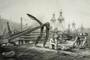Anchors at Naval Shipyard by Filippino Lippi