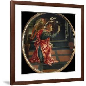 Angel of the Annunciation, by Filippino Lippi by Filippino Lippi