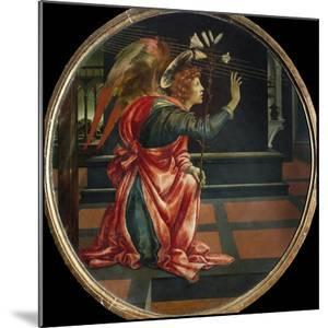Angel of the Annunciation, by Filippino Lippi by Filippino Lippi