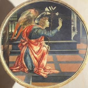 Annunciation, 1483-1484 by Filippino Lippi