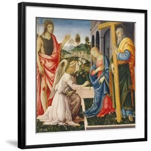 Annunciation and Saints by Filippino Lippi