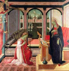Annunciation by Filippino Lippi