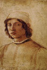Filippino Lippi, self-portrait. 1711. by Filippino Lippi