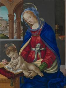 Madonna and Child, c.1483-4 by Filippino Lippi
