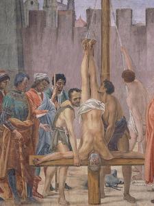 Martyrdom of Saint Peter, 1485 by Filippino Lippi