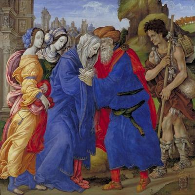 Meeting of Saints Joachim and Anne at the Golden Gate, 1497
