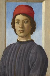 Portrait of a Youth, C.1485 by Filippino Lippi