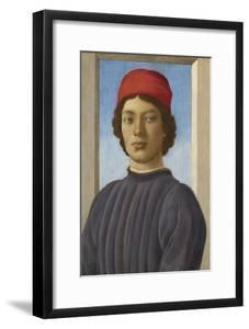 Portrait of a Youth, C.1485 by Filippino Lippi