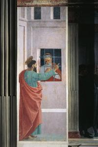 Saint Paul Visiting Saint Peter in Prison, 1485 by Filippino Lippi