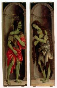 St. John the Baptist and St. Mary Magdalene by Filippino Lippi