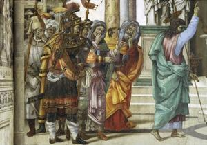 St Philip the Apostle in Front of Temple of Mars in Hierapolis, 1502 by Filippino Lippi