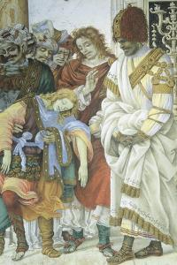 St Philip the Apostle in Front of the Temple of Mars in Hierapolis, 1502 by Filippino Lippi