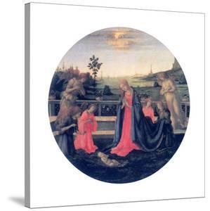 The Adoration, C1480s by Filippino Lippi