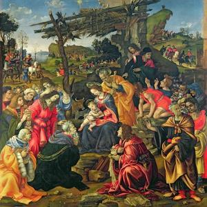 The Adoration of the Magi, 1496 by Filippino Lippi