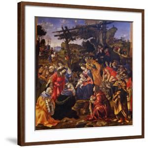 The Adoration of the Magi, 1496 by Filippino Lippi