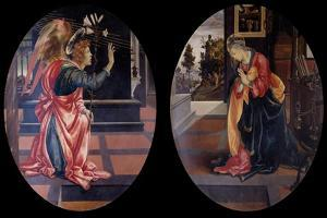 The Annunciation, 1483-1484 by Filippino Lippi