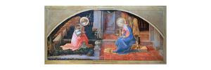 'The Annunciation', c1450-1453. Artist: Filippino Lippi by Filippino Lippi