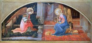 'The Annunciation', c1450-1453. Artist: Filippino Lippi by Filippino Lippi