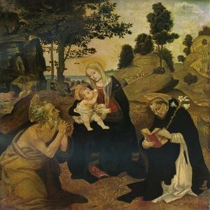 The Virgin and Child with Saints Jerome and Dominic, c1485, (1911) by Filippino Lippi