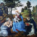 Womanly Figure-Filippino Lippi-Giclee Print